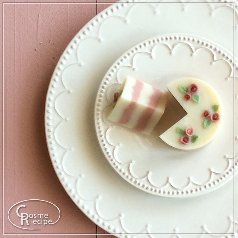 ケーキ風 バラコンフェティソープ