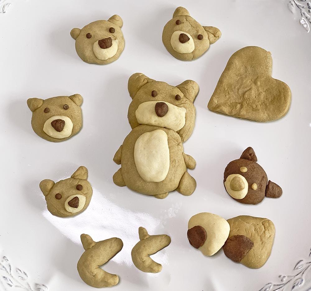 今年作った柴犬クッキーの画像